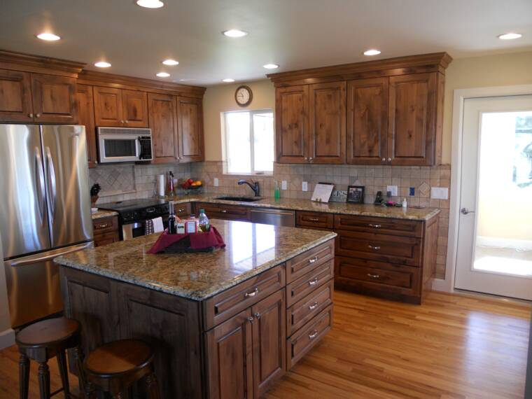 and This Parker kitchen remodel was constructed by removing a dated  1960 s kitchen and expanding the kitchen. Capstone Home Renovations and remodeling