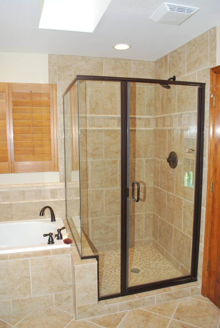 This Littleton Shower Was Expanded And Is Part Of This Complete Master Bath  Remodel.